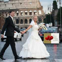 Katholisch heiraten in Rom Colosseo