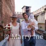 Spaziergang durch Verona - heiraten in Italien