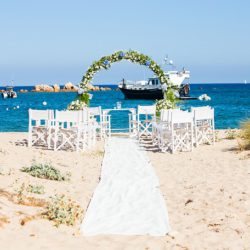 Luxushochzeit am einsamen Strand - Luxury Wedding on a lonly beach in Sardinia